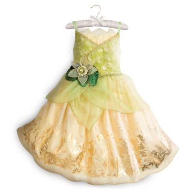 Tiana kostume til børn, Prinsessen og frøen