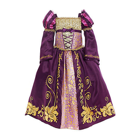 Rapunzel Deluxe Costume For Kids, Tangled