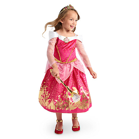 Disfraz infantil de Aurora, La Bella Durmiente