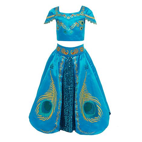 Prinsesse Jasmin luksuskostume til børn