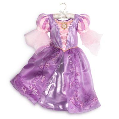 Rapunzel maskeradklänning för barn, Trassel