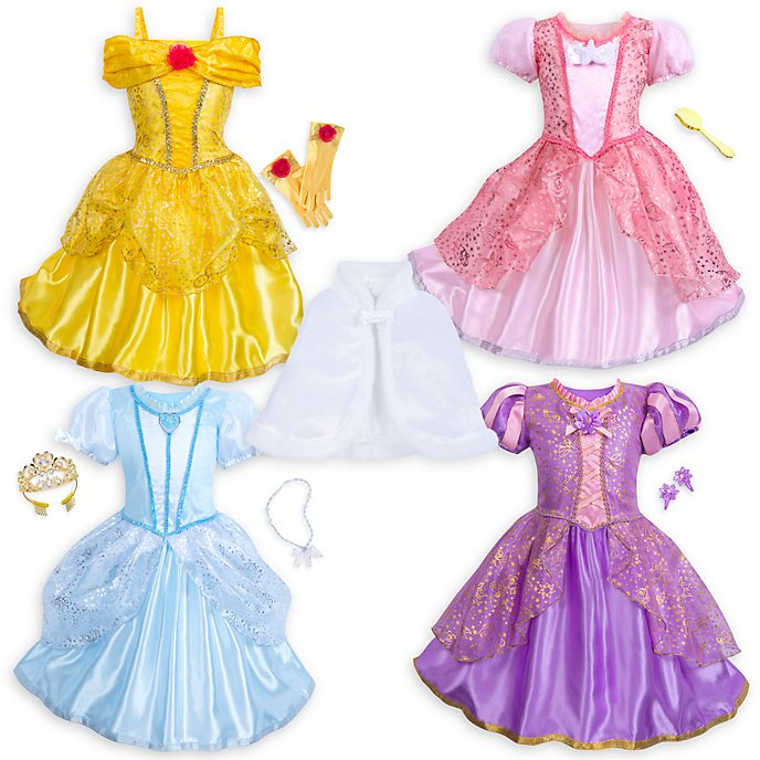 Disney Store Disney Princess Wardrobe Set For Kids