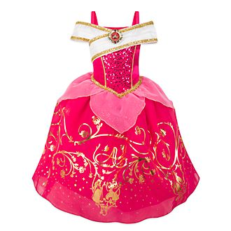 Disney Store Aurora Foil Print Costume For Kids, Sleeping Beauty