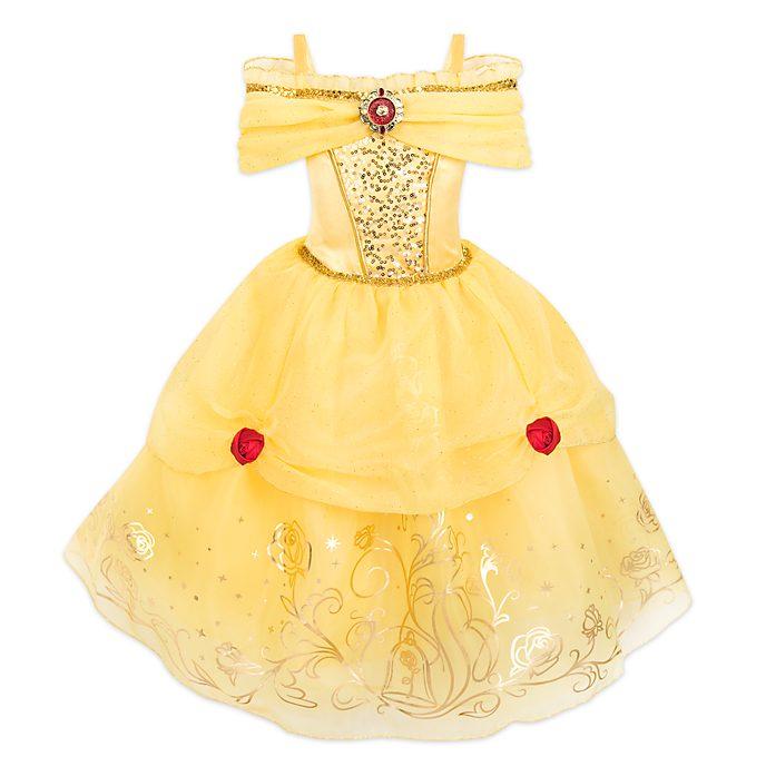 Disney Store - Die Schöne und das Biest - Belle - Kostüm mit Foliendruck für Kinder