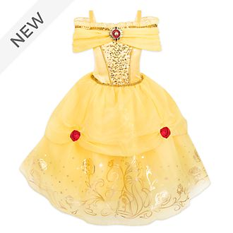 Disney Store Belle Foil Print Costume For Kids, Beauty and the Beast