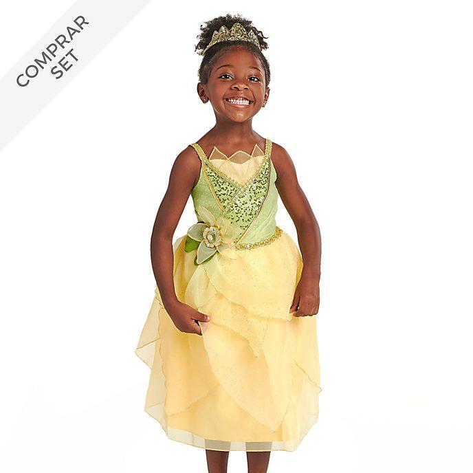 Conjunto disfraz infantil Tiana, Disney Store
