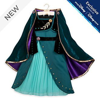 Disney Store Queen Anna Deluxe Costume For Kids, Frozen 2