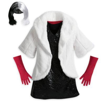 Cruella de Vil Kostüm für Kinder