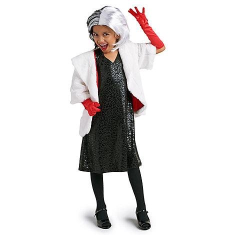 Disfraz infantil de Cruella de Vil