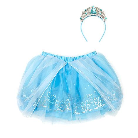 Askungen, set med ballerinakjol och accessoarer för barn