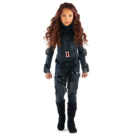 The First Avenger: Civil War - Schwarze Witwe Kostüm für Kinder