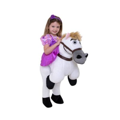 Rapunzel With Maximus Costume For Kids