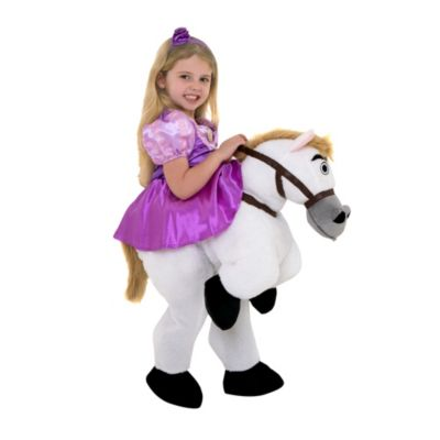 Disfraz infantil Rapunzel con Máximus