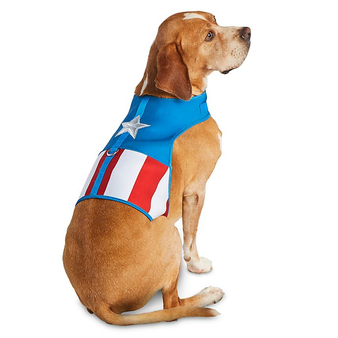 Disney Store Captain America Pet Harness