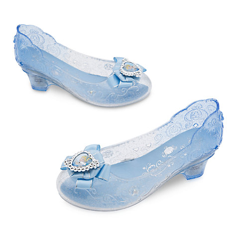 Scarpe bimbi con luce per costume di Cenerentola
