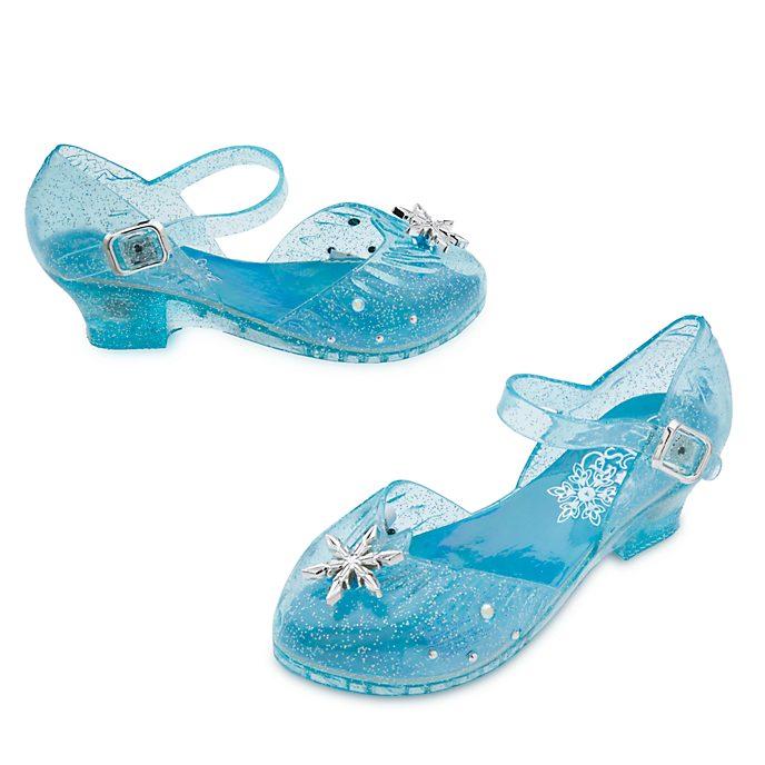 premium selection 34ad7 e0774 Scarpe bimbi con luce per costume Elsa, Frozen - Il Regno di Ghiaccio