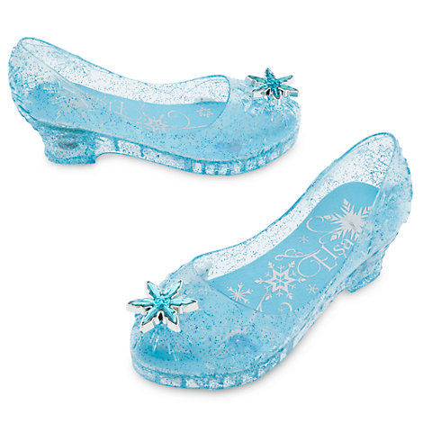 Disney Store Frozen Princess Elsa Light Up Shoes