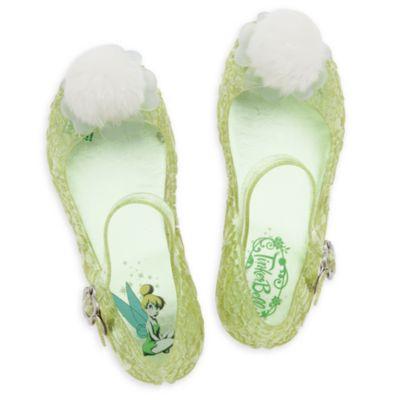 Zapatos infantiles de disfraz que brillan en la oscuridad de Campanilla