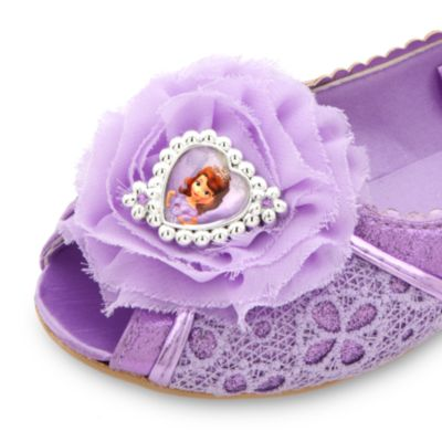 Chaussures de déguisement Princesse Sofia pour enfants