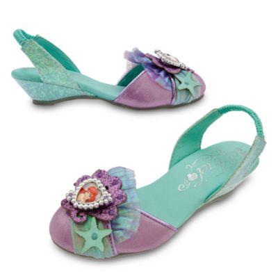 Zapatos infantiles disfraz la Sirenita