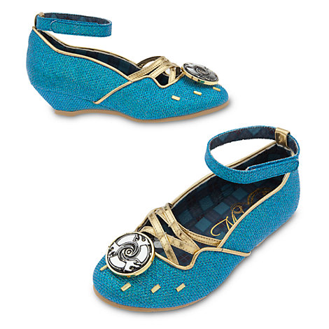 Zapatos infantiles disfraz Mérida, Brave