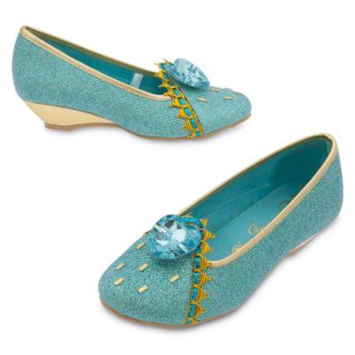 Scarpe bimbi per costume Jasmine