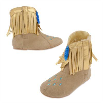 Scarpe bimbi per costume Pocahontas