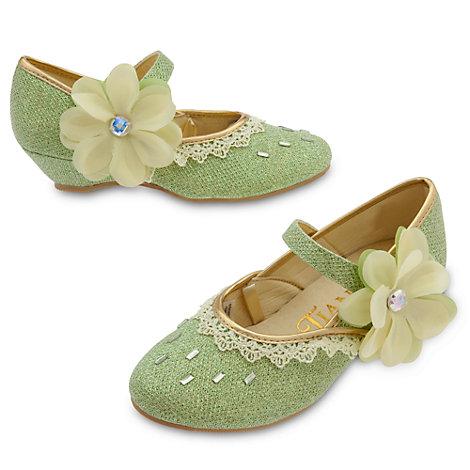 Zapatos infantiles disfraz Tiana