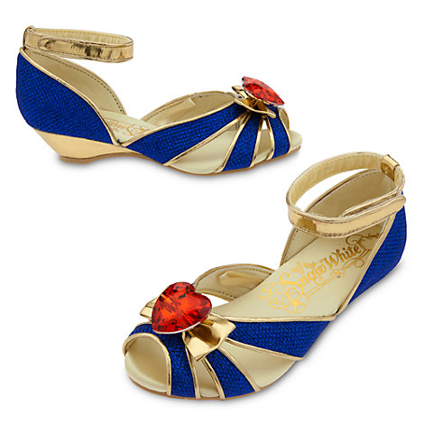 Zapatos infantiles disfraz Blancanieves