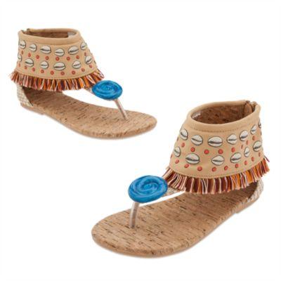 Chaussures de déguisement Vaiana pour enfants