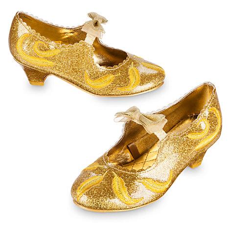 Zapatos de disfraz infantiles de Bella, La Bella y la Bestia
