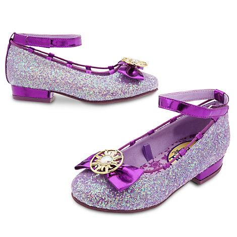 Zapatos infantiles para disfraz de rapunzel de enredados for Zapateria infantil