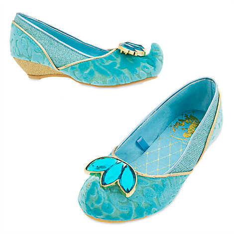 Princess Jasmine Costume Shoes For Kids, Aladdin