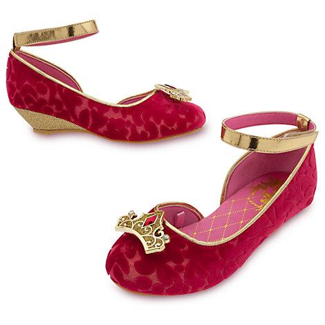 Chaussures de déguisement pour enfant Aurore, La Belle au Bois Dormant