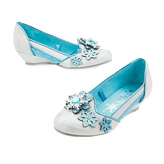 Disney Store Elsa Costume Shoes For Kids