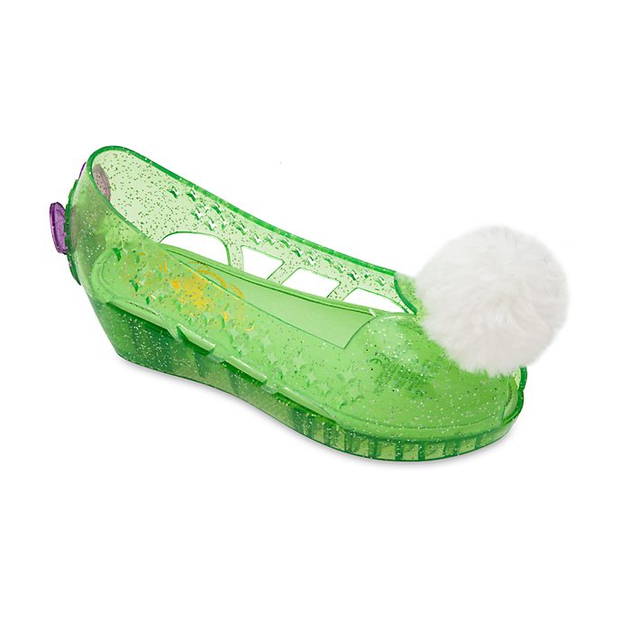 Disney Store Tinker Bell Slip-On Costume Shoes For Kids