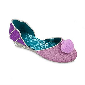 Disney Store Ariel Slip-On Costume Shoes For Kids