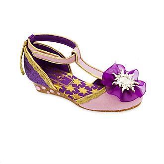 9504e19fff0 Zapatos disfraz Rapunzel con diseño en T para niña
