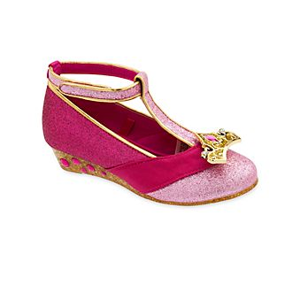 635ea732869d7b Zapatos disfraz Aurora con diseño en T para niña