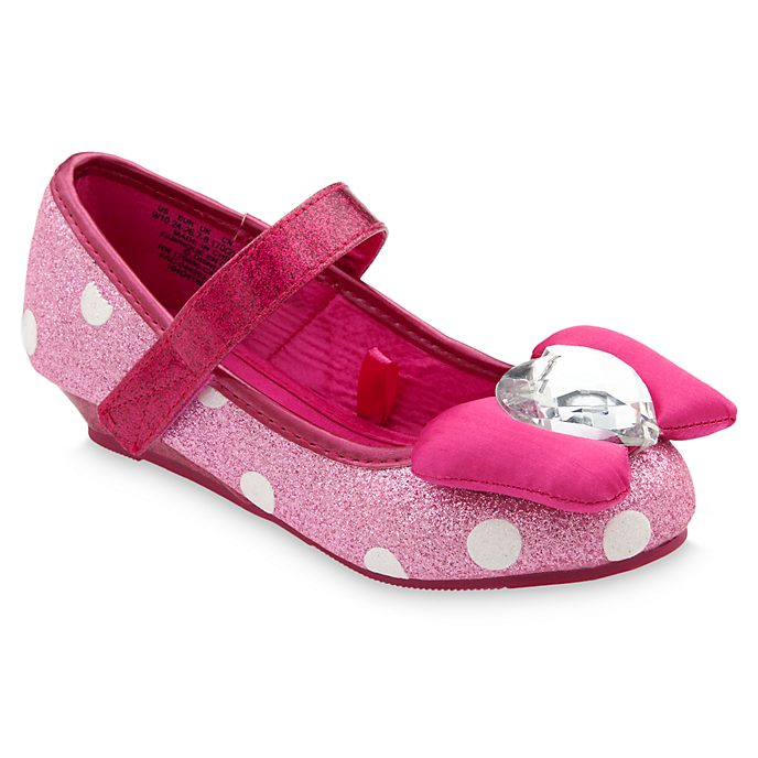 Disney Store Minnie Mouse Pink Costume Shoes For Kids
