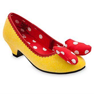 Scarpe bimbi gialle per costume Minni Disney Store