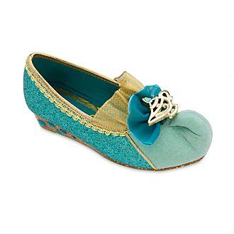 Zapatos infantiles sin cordones disfraz princesa Jasmine, Disney Store