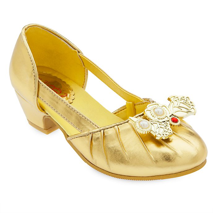 Disney Store Belle Costume Shoes For Kids