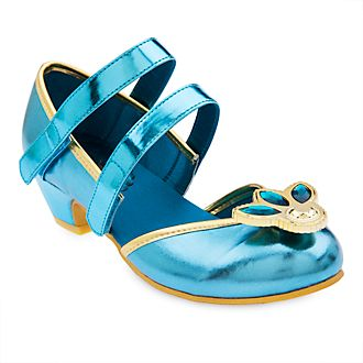 Disney Store Princess Jasmine Costume Shoes For Kids
