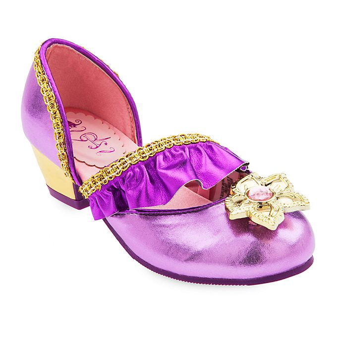 Disney Store Rapunzel Costume Shoes For Kids