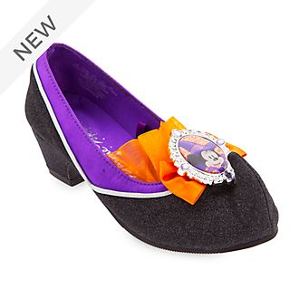 Disney Store Minnie Mouse Witch Shoes For Kids