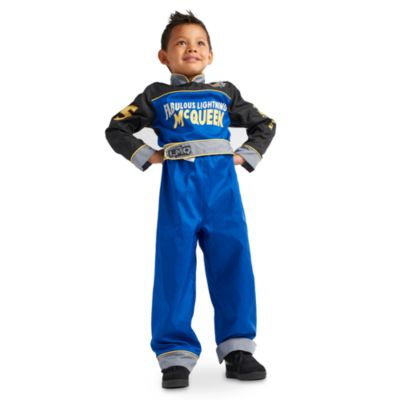 Reversible Lightning McQueen Costume For Kids, Disney Pixar Cars 3