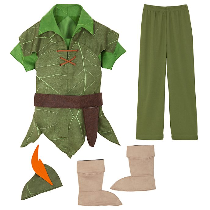 Disney Store Peter Pan Costume For Kids