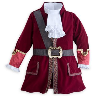 Costume bimbi Capitan Uncino, Jake e i Pirati dell'Isola che non c'è