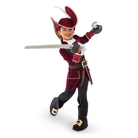 Disfraz infantil de Capitán Garfio, Jake y los piratas de Nunca Jamás